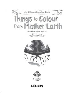 Things to Colour from Mother Earth by Patrick Hunter cover page